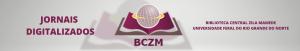 [descrição da imagem] Botão do site dos Jornais Digitalizados da BCZM [fim da descrição da imagem]